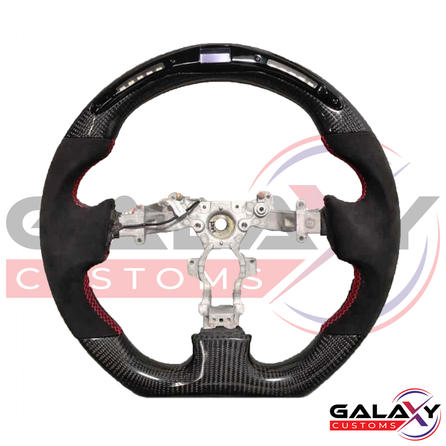 Galaxy Customs - Carbon Fiber & LED Display Steering Wheel