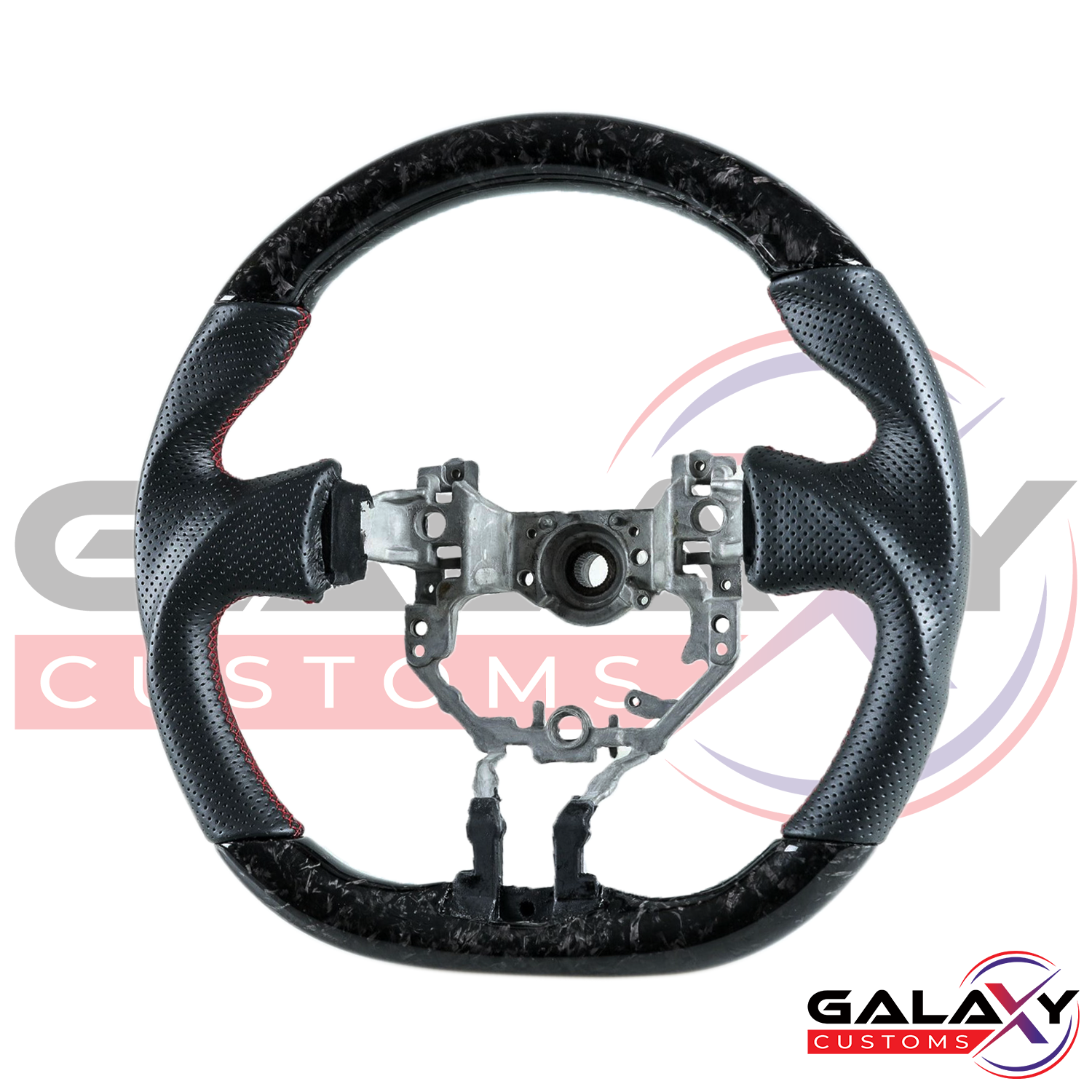 Galaxy Customs - Forged Carbon Fiber Steering Wheel